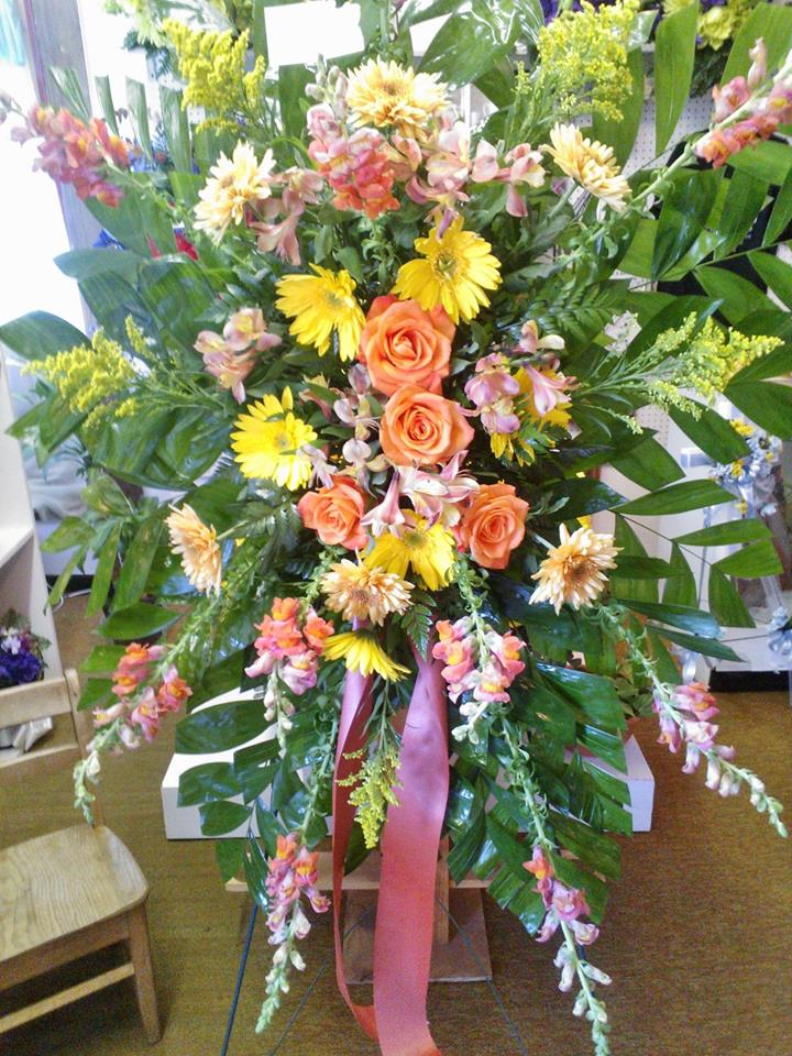Gorgeous arrangement from Wilma's Flowers in Jasper, AL