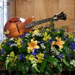 Gorgeous casket spray by Tammi Cribbs of Oran's Flower Shop in Kingston, TN