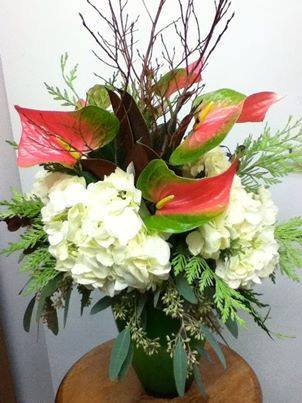 Lovely arrangement from CR Flowers & Gifts of Bracebridge, Ontario, Canada