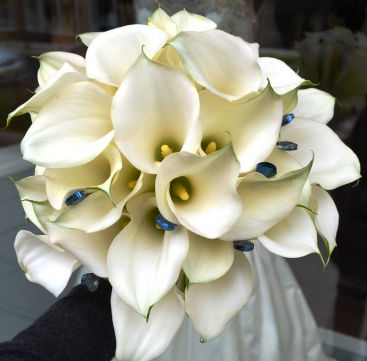 Simple yet elegant bouquet from Monday Morning Flower and Balloon Co. in Princeton, NJ