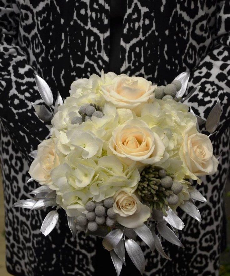 Amazing brides maids bouquets from Monday Morning Flower and Balloon Co. in Princeton, NJ