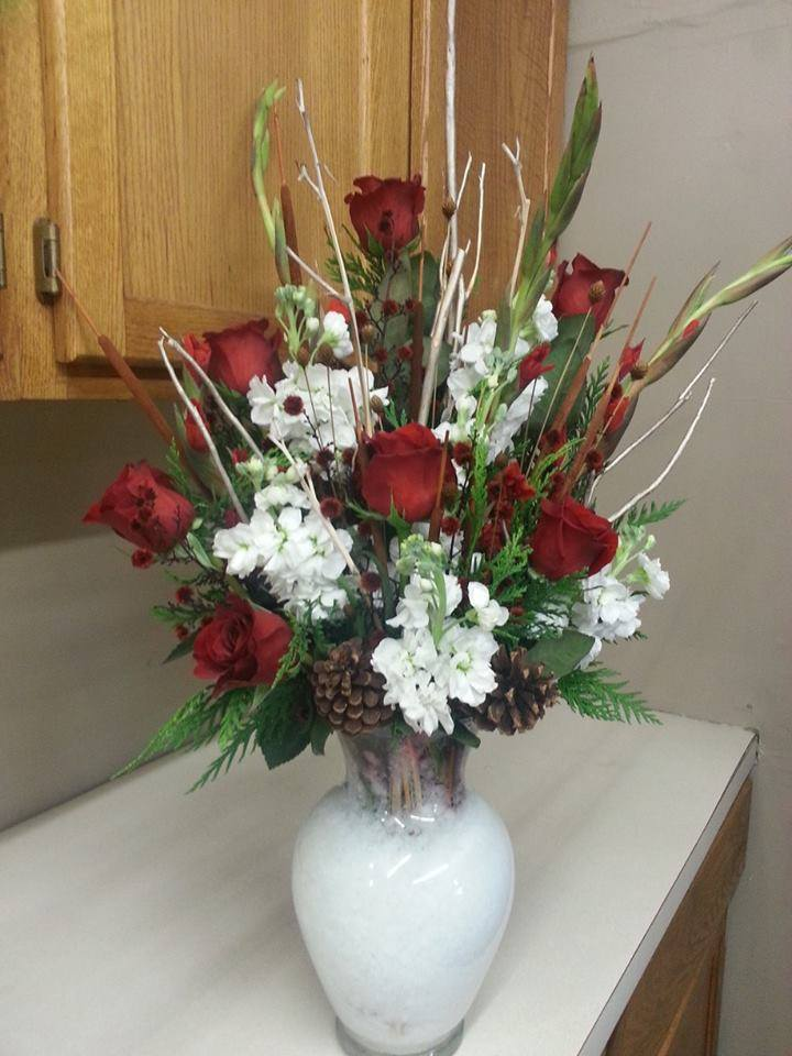 Country Christmas bouquet from Holtz Landscape in Ham Lake, MN