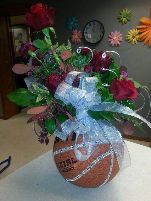 Creative arrangement from Flowers & Wine in Wayne, NE