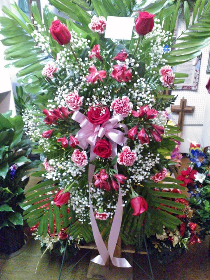 Fantastic arrangement from Wilma's Flowers in Jasper, AL