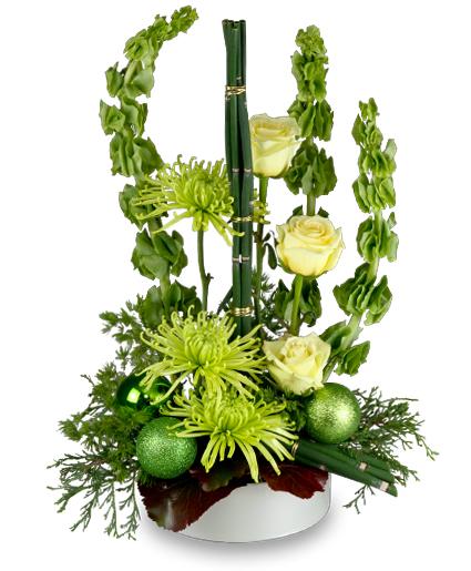 Green Mystique Winter Flowers