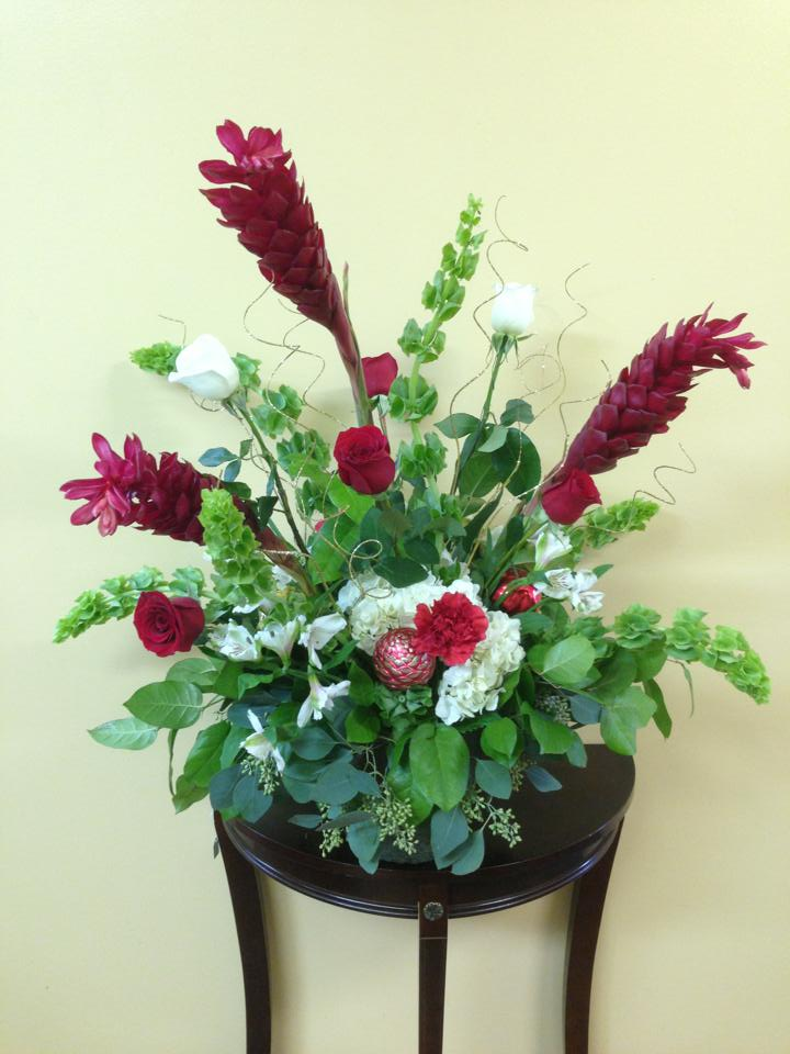 Lovely arrangement from Darling Flowers in Olive Branch, MS