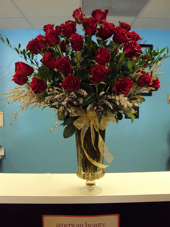 50 roses for a 50th Anniversary by Forget-Me-Not Flowers and Gifts in Chandler, TX