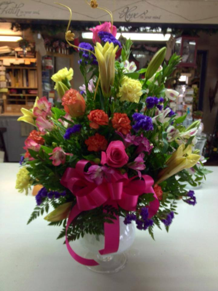 A burst of color from Helen's Flowers in Greenville, OH