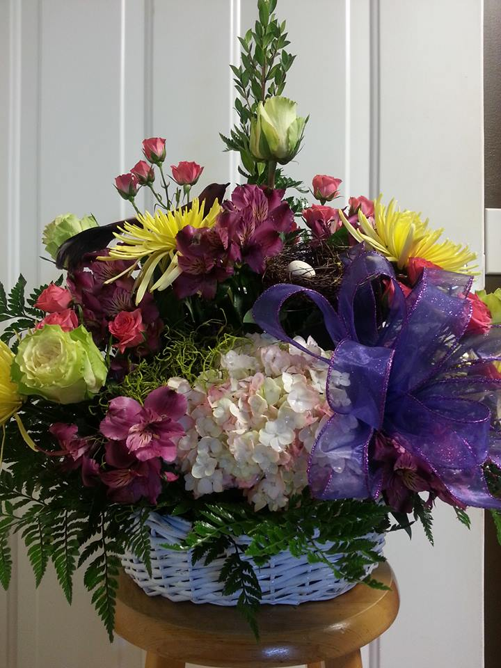 A splash of color with Rabbit's Nest Florist and Gifts in Madison, AL