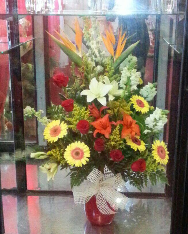 A touch of spring from Gris Faviola's Flower Shop in Los Fresnos, TX