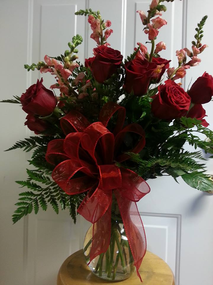 Beautiful arrangement from Rabbit's Nest Florist and Gifts in Madison, AL