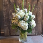 Beautiful sympathy arrangement by Paradise Valley Florist in Scottsdale, AZ