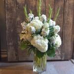 Beautiful sympathy arrangement by Paradise Valley Florist in Scottsdale, AZ