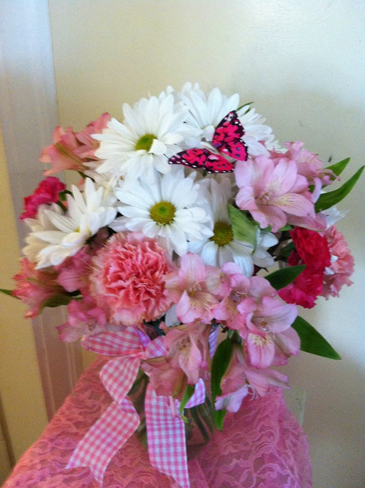 Beauty in pink from The Cottage Florist in Riverview, FL