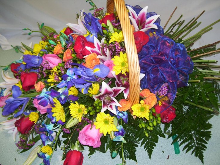 Bright and cheery from Michele's Floral and Gifts in Copperas Cove, TX
