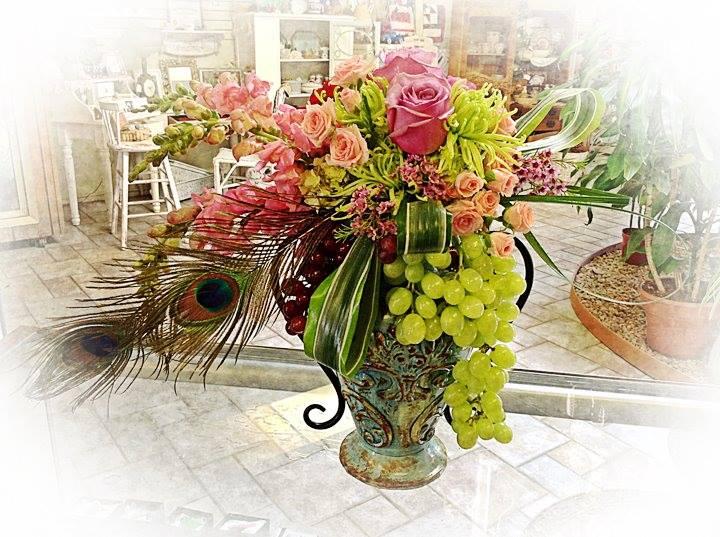 Creativity on display at Ramona's Sun Valley Florist in Ramona, CA