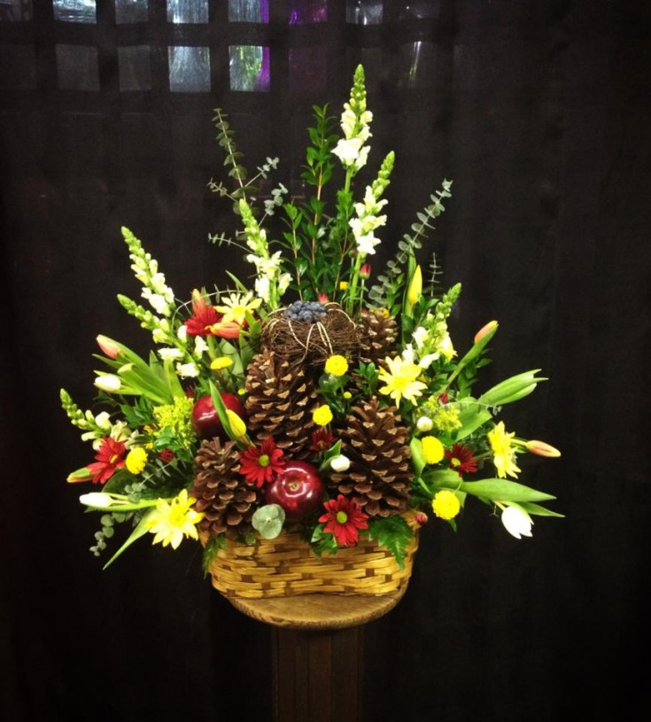 Cremation service tribute from West End Florist in Rome, GA