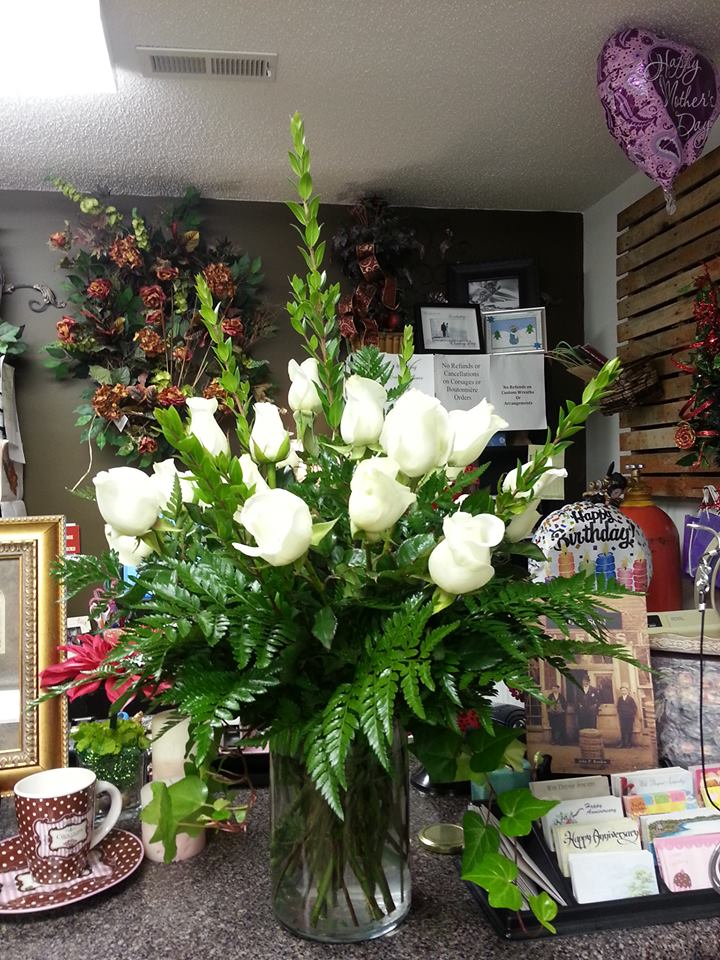 Elegant arrangement by Rabbit's Nest Florist and Gifts in Madison, AL