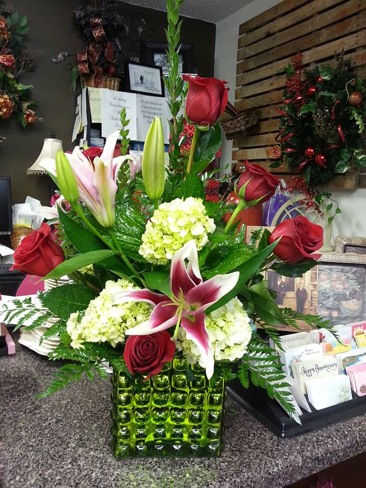 Fantastic arrangement from Rabbit's Nest Florist and Gifts in Madison, AL