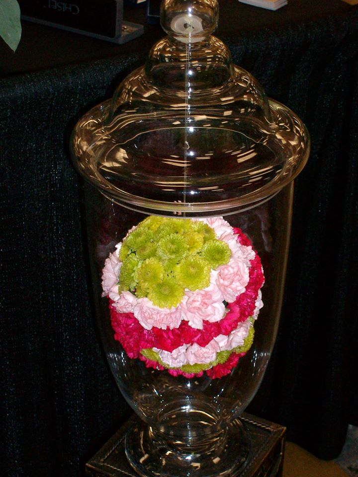 Magnificent wedding centerpiece by Your Personal Florist in Troy, OH