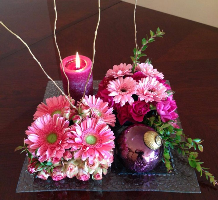 Simple but elegant from Marina's Flowers in Staten Island, NY