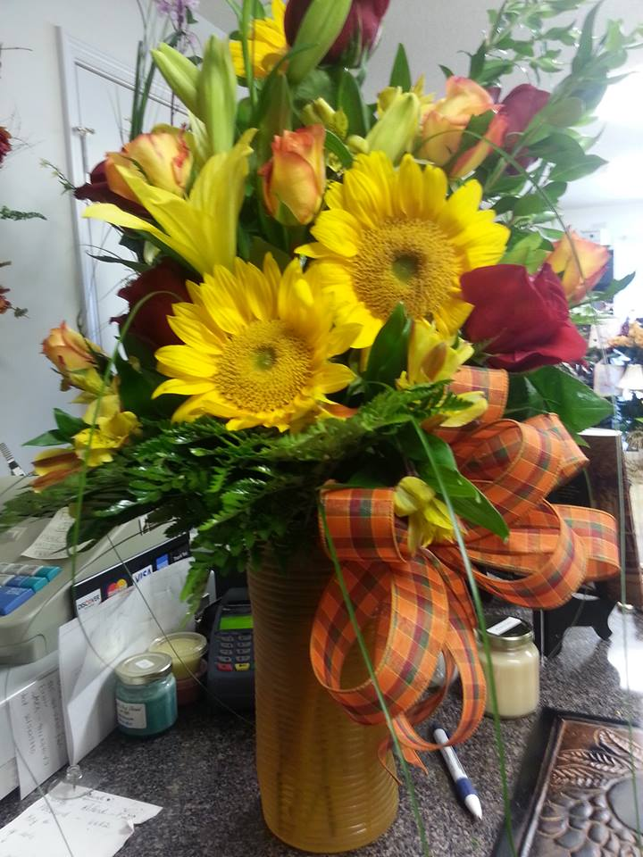 Sunflower extravaganza from Rabbit's Nest Florist and Gifts in Madison, AL