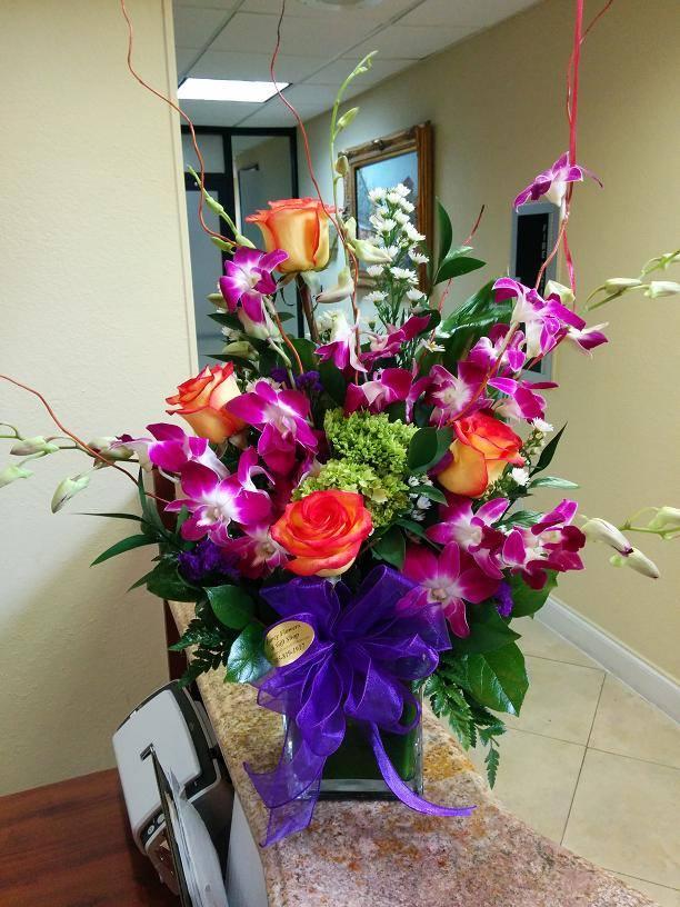 Tropical beauty from Fancy Flowers & Gift Shop in Hialeah, FL