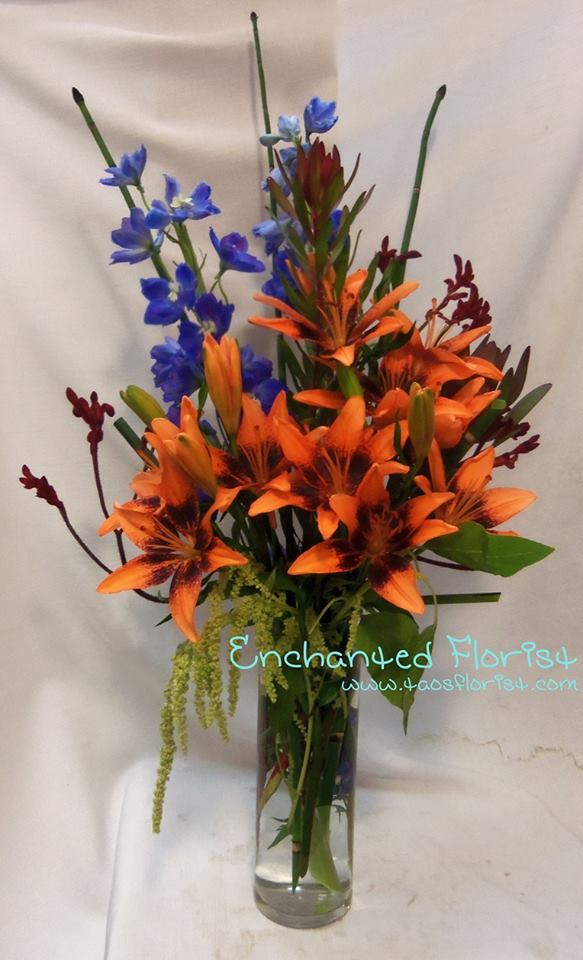Tropical beauty with The Enchanted Florist in Taos, NM