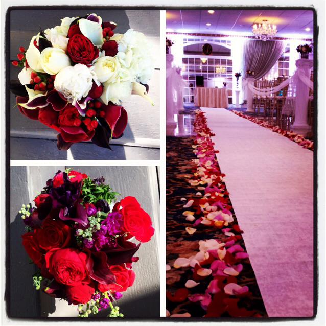 Wedding magic from Mullica Hill Floral Co. in Mullica Hill, NJ