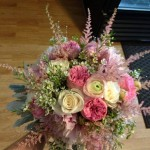 Winning bouquet from Cary's Designs Floral in Spanish Fork, UT