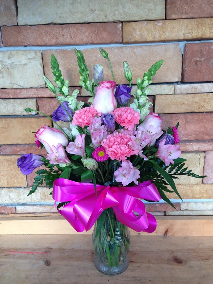A spring bouquet from Dorothea's Florist in Hobe, FL