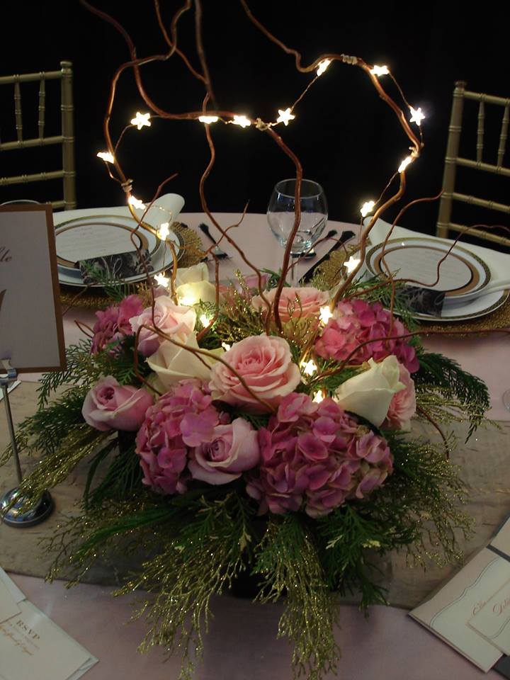 A wedding arrangement from The Petal Patch, Ltd in McFarland, WI