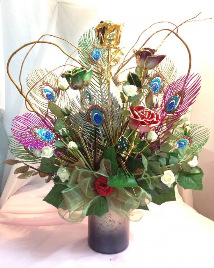 Arrangement for a recipient allergic to flowers from Michele's Floral & Gifts in Copperas Cove, TX