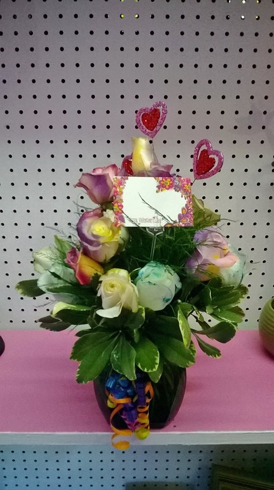 Beautiful Valentine's Day arrangement from Wilma's Flowers in Jasper, AL