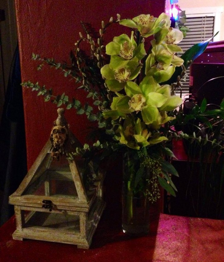 Beautiful arrangement from The Enchanted Florist in Taos, NM