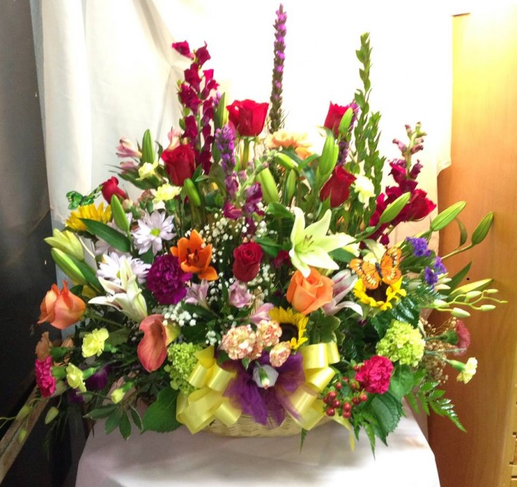 Mix of 'Everything You Have in the Cooler' from Michele's Floral & Gifts in Copperas Cove, TX