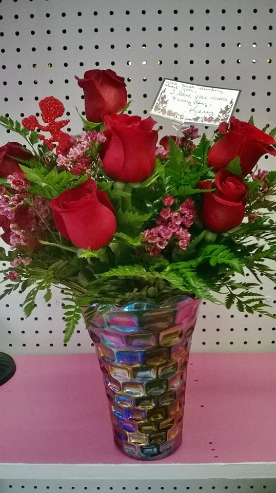 Saying, 'I Love You' from Wilma's Flowers in Jasper, AL