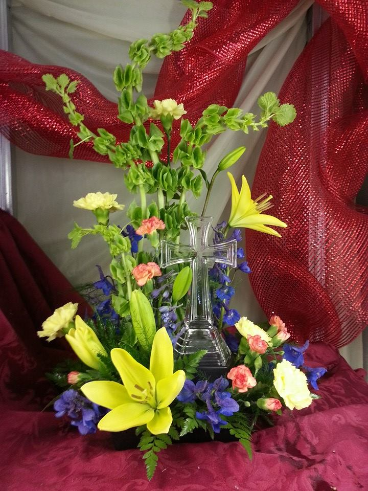 Stunning arrangement from Bud's in Bloom Floral & Gift in New Albany, IN
