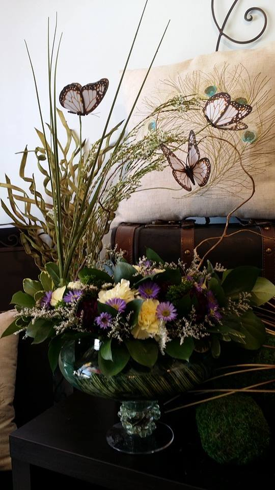 A beautiful Spring arrangement from Blue Shores Flowers & Gifts in Wasaga Beach, ON