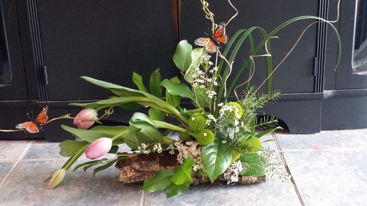A gorgeous arrangement from Blue Shores Flowers & Gifts in Wasaga Beach, ON