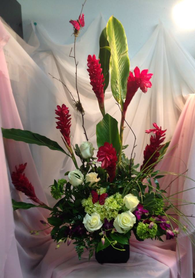 A lovely piece from Michele's Floral and Gifts in Copperas Cove, TX