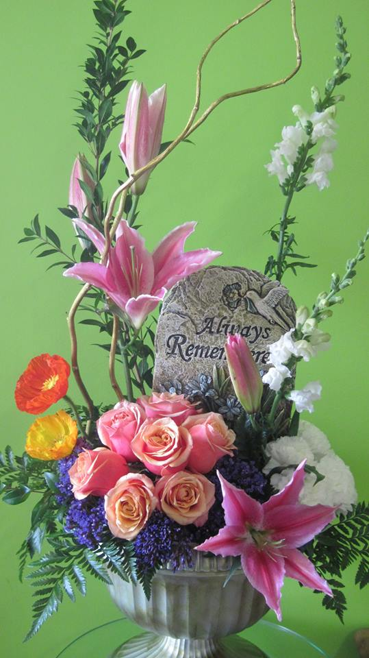 A sympathy tribute from Your Personal Florist in Troy, OH