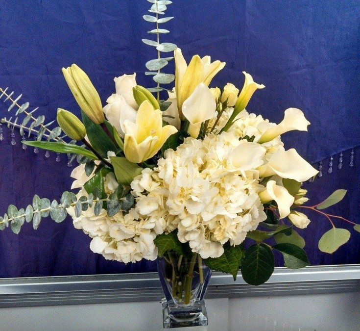 Beautiful arrangement from DEEP ROOTS Floral & Wedding Design, Tanning, Gifts in Grovetown, GA