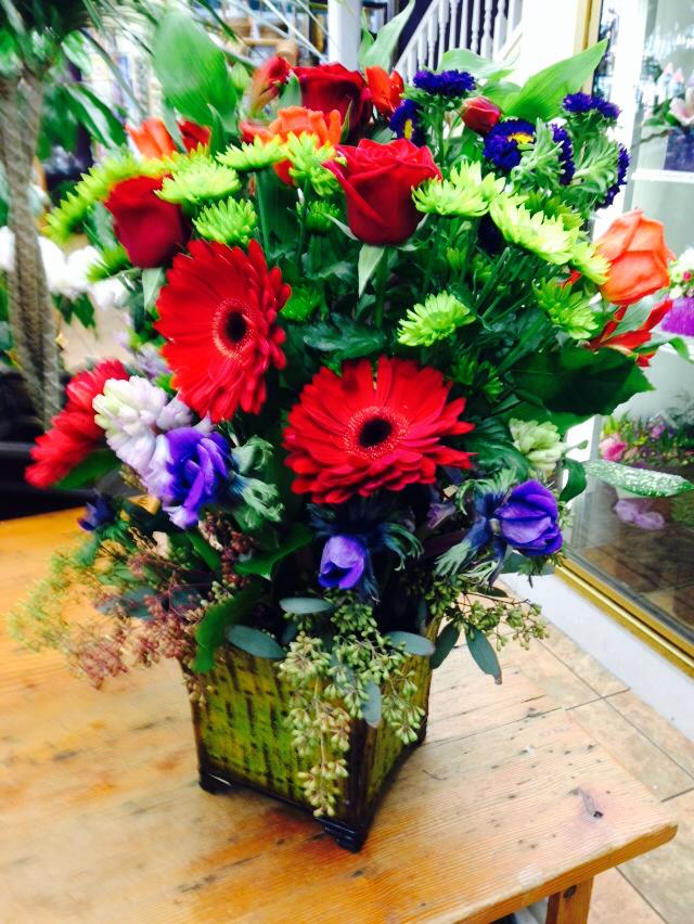 'Bold is Beautiful' from Oak Bay Flower Shop in Victoria, BC