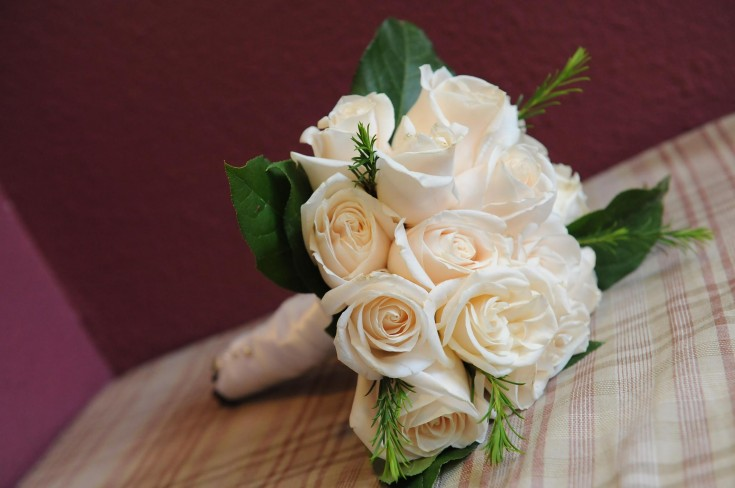 Elegant bouquet from Tussie Mussie Flower Cottage in Westminster, CO