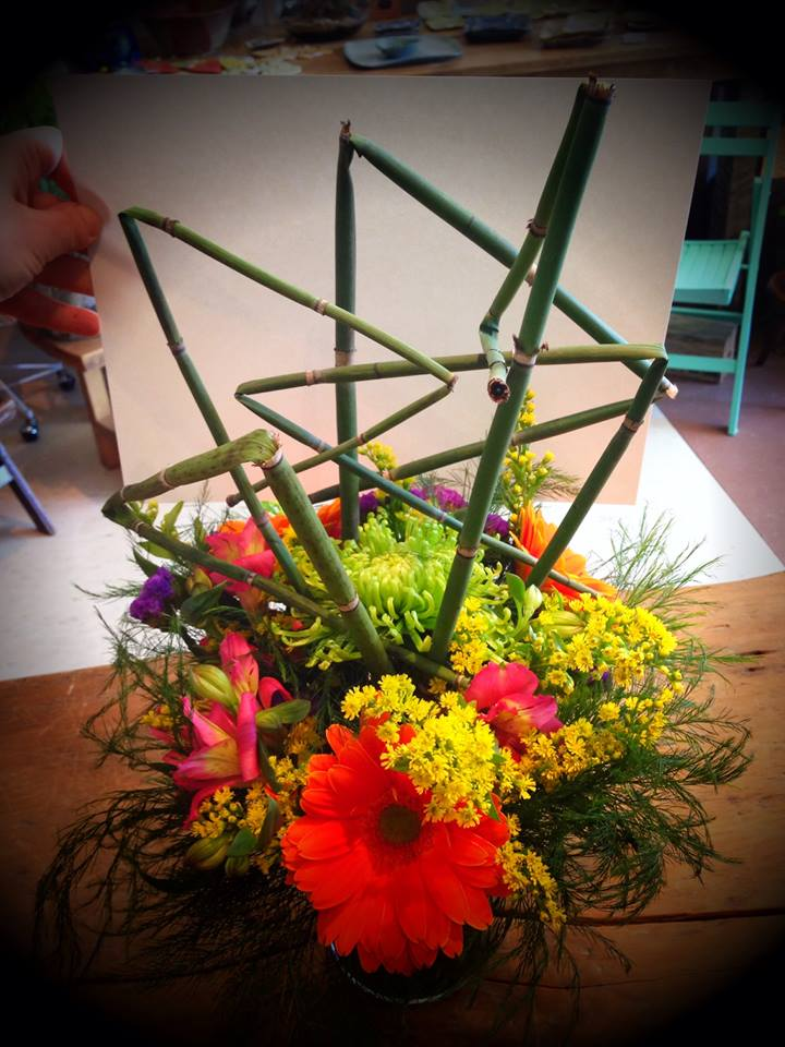 Fun and funky flowers from Petals in Thyme in Wasaga Beach, ON