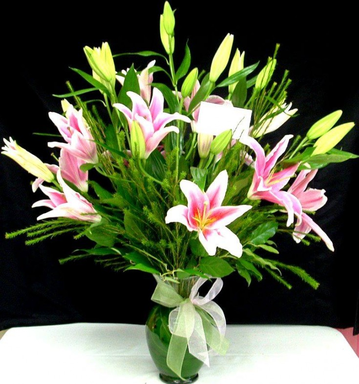 Stargazer bouquet from Divine Ideas and Flowers For You in Edinburg, TX
