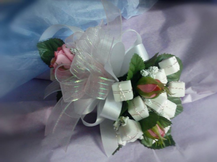 Sweet 16 with sugar cubes by Nature's Corner Florist in Anderson, SC