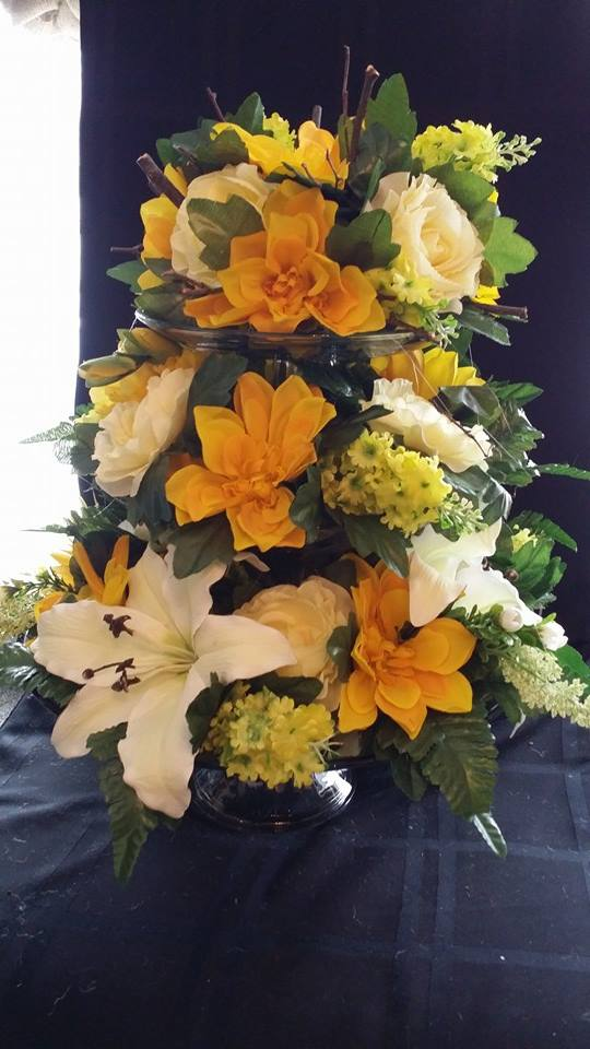 3-tier wedding cake from BlueShores Flowers & Gifts in Wasaga Beach, ON