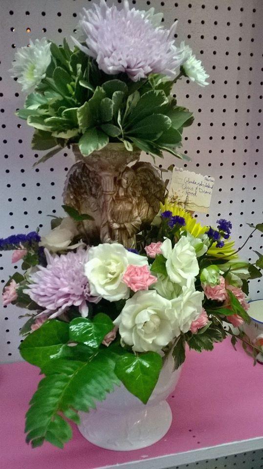 A gorgeous arrangement from Wilma's Flowers in Jasper, AL